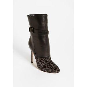 JIMMY CHOO 'Blaine' Boots in Leopard Print